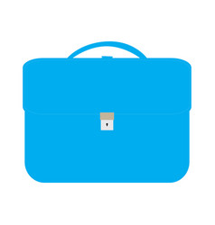isolated briefcase icon vector image