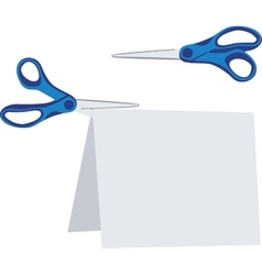 Scissors color set 02 vector