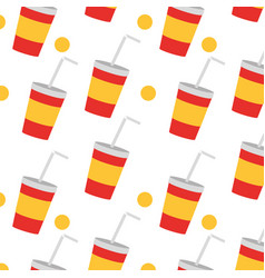 Soda background design vector