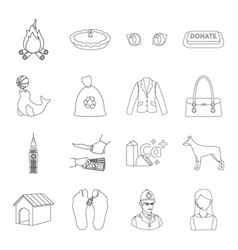 Travel justice circus and other web icon in vector