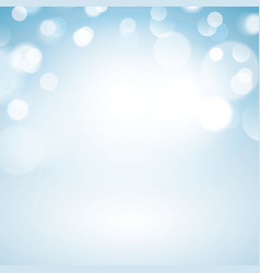 Blue bokeh background vector
