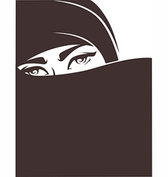 Arabian girl vector