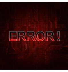 error vector image vector image