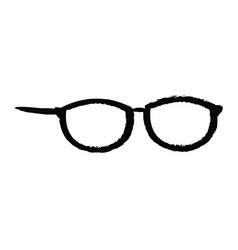 Glasses fashion accessory trendy object vector