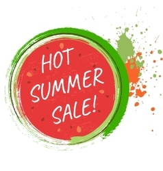 Hot sale design template vector image