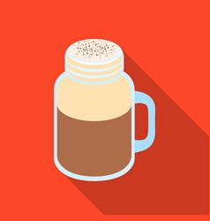 milk shakedifferent types of coffee single icon vector image