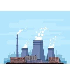 Thermal power station vector