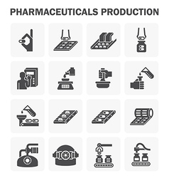 Pharmacy manufacture 2 vector