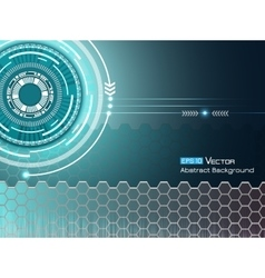 Background with futuristic elements 2 vector