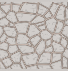 Cartoon gray stone seamless background texture vector