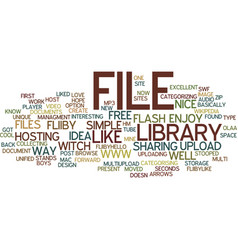 File library wwwfliibycom text background word vector