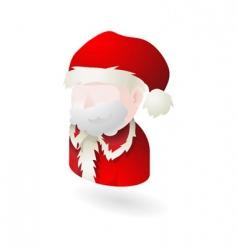 Santa illustration vector image vector image