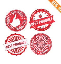 Stamp sticker best product collection - - e vector