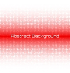 Abstract bright light red technology background vector