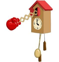 Cuckoo clock vector