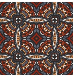 Seamless geometric ethnic tribal pattern vector