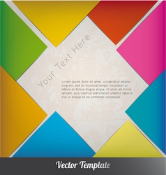 Design template eps10 vector image