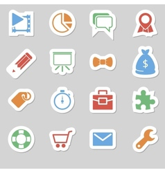 Seo icons as labes vol 2 vector