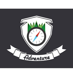 Great adventure design vector