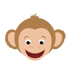 Monkey icon animal design graphic vector