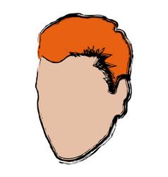 Fcae male man character default avatar vector
