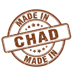 Made in chad vector
