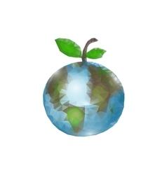 World Health Day Globe on vector image