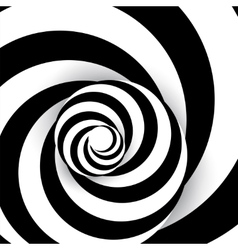 Spiral abstract background dynamic art vector