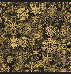 Christmas retro seamless pattern background for vector