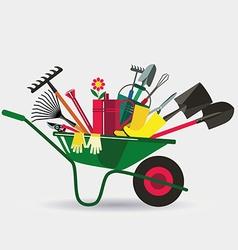 Organic farming vector image vector image