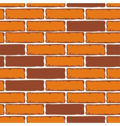 Seamless Patterns of Brick Walls stock vector image