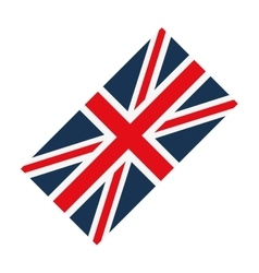 Flag england europe design vector