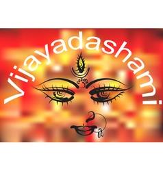 Vijayadashami vector image