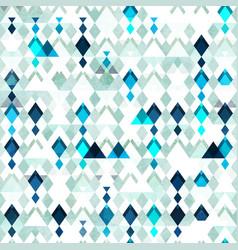 Diamond seamless pattern grunge effect vector