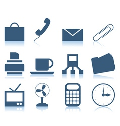 office icons2 vector image