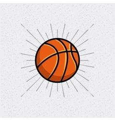Basketball league emblem classic vector