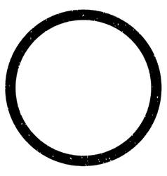Circle Grainy Texture Icon vector image vector image