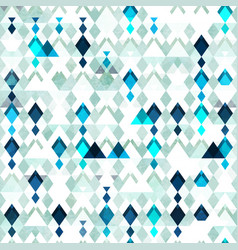 Diamond seamless pattern grunge effect vector