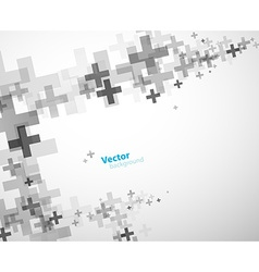 Abstract background created with plus signs - vector image