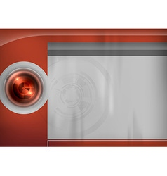 template red target vector image