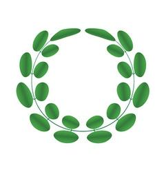Acacia wreath vector