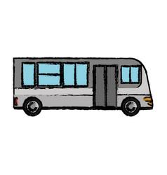 Bus transport vehicle commerce vector