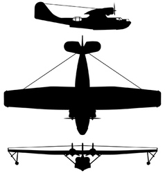 Consolidated PBY5 Catalina vector image