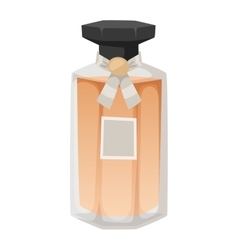 Perfume bottle template vector