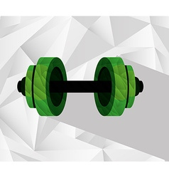 Gym equipment vector