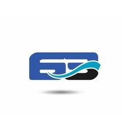 62th year anniversary design logo vector