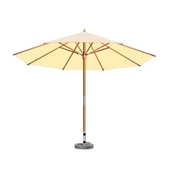 Street umbrella umbrella awning vector
