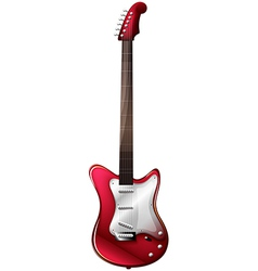 A guitar vector image vector image