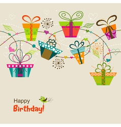 Itemplate greeting card vector