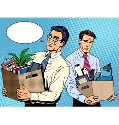 Job dismissal and employment vector